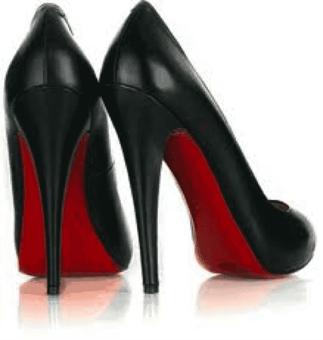 buy popular be793 5477d Louboutin Red Sole on Black Shoes - Decoding IP Blog